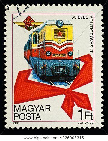 Pioneers' Railway On Postage Stamp
