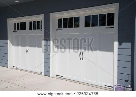 Garage Doors In Small Town, Washington State.