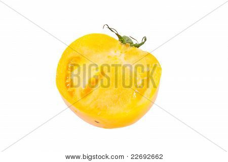 Yellow tomato.