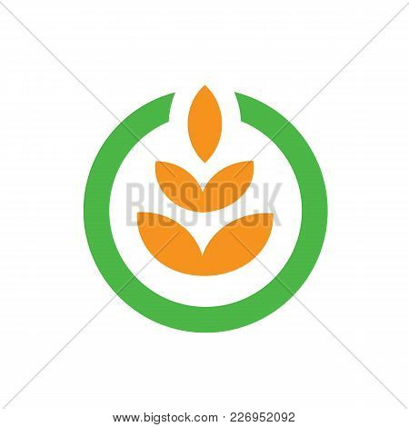 Agriculture Farming Logo Vector. Nice And Clean Logo Template, Suitable For A Creative Agriculture,