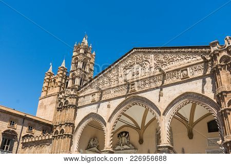 Palermo Cathedral, Is A Place Of Catholic Worship, Archbishop Of The Archdiocese. Part Of The World
