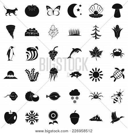 Congenital Icons Set. Simple Set Of 36 Congenital Vector Icons For Web Isolated On White Background