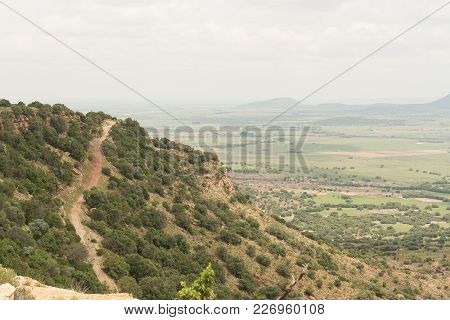 A 4x4 Road On The Koranna Mountain Near Excelsior, A Small Town In The Free Strate Province