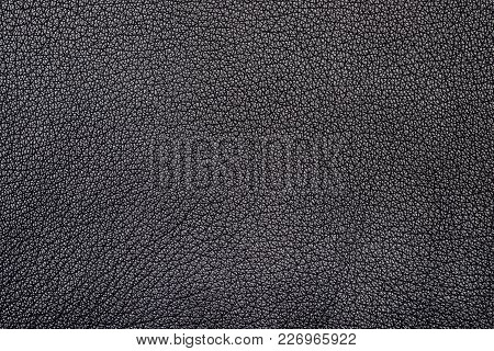 Seamless Texture Of A Surface From A Natural Skin Of Black Color.