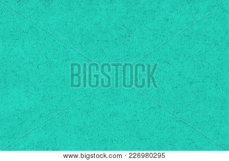 Teal Turquoise Natural Paper Grain Background Texture
