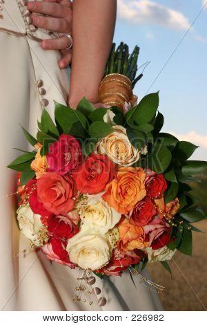 Blumen Beeing Besitz Braut