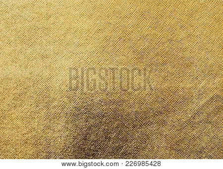 Gold Texture Background Metallic Golden Foil Or Shinny Wrapping Paper Bright Yellow Wall Paper For D