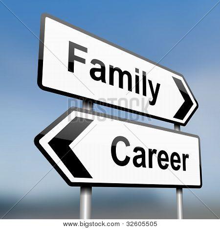 Family Or Career.