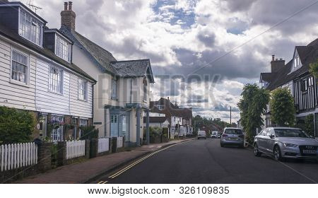 Burwash, East Sussex, Uk, June 2019 - Street View Of The Village Of Burwash, East Sussex, Uk