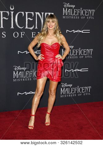 Heidi Klum at the World premiere of Disney's 'Maleficent: Mistress Of Evil' held at the El Capitan Theatre in Hollywood, USA on September 30, 2019.