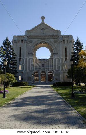 St Boniface Basillica, Winnipeg