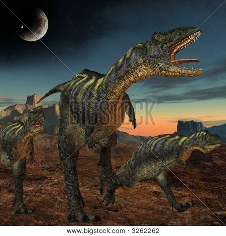 Aucasaurus-3D Dinosaur