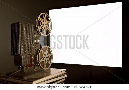 Vintage Movie Film Projector