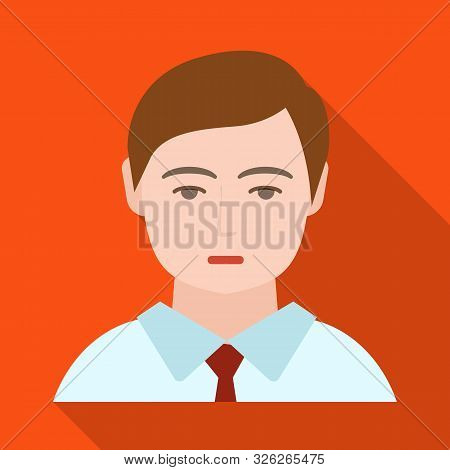 Vector Illustration Of Boy And Hairdo Logo. Set Of Boy And Young Stock Vector Illustration.