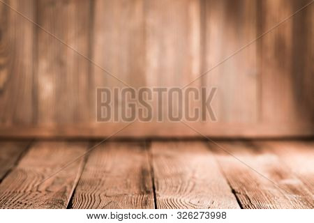 Old grungy and weathered wood surface wall plank texture corner background