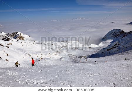 Kitzsteinhorn Ski Resort, Austrian Alps