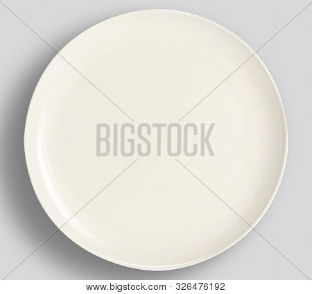 Simple Modern Color Plate - Simple Sketch Dinnerware Collection - White Color Dinnerware Plates