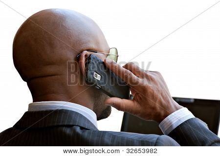 Modern Mobile Business Man