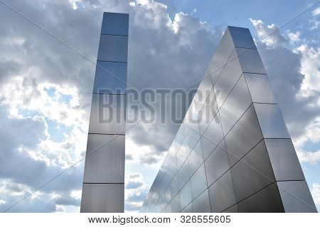 Jersey City, Nj - Aug 4: The Empty Sky 9-11 Memorial At Liberty State Park In Jersey City, New Jerse