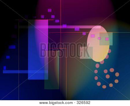 Abstract Nightlife Illustration