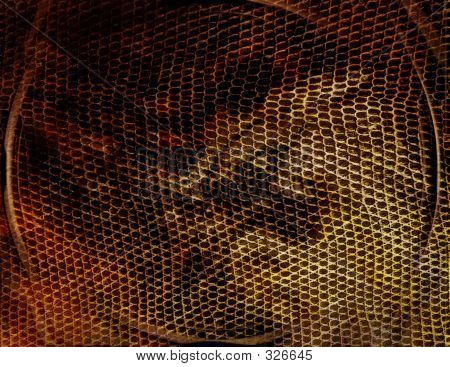Abstract Chain Link Illustration