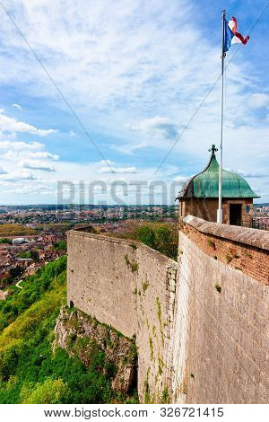 Citadel Of Besancon At Bourgogne Franche Comte Region