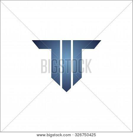 Initials Tt.letter T Logo Vector Icon Design Template