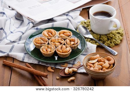 Cashew Nut Pie