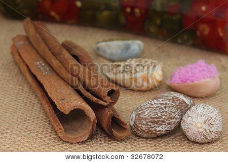 bunches of cinnamon