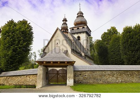 Ancient Historical  Gothic Church Of The Presentation Of The Lord  Outside - One Of The Most Valuabl