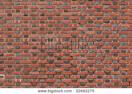 Vintage, End and Side Brick Wall