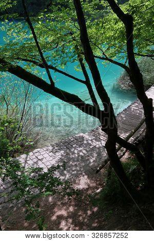 Croatia Natural Landscape - Plitvice Lakes National Park (plitvicka Jezera).