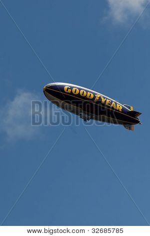 Good Year Blimp in flight