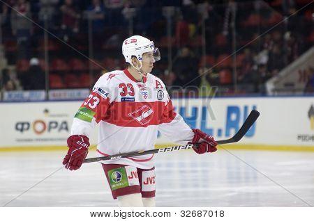 Forward Of Spartak Bodrov Denis