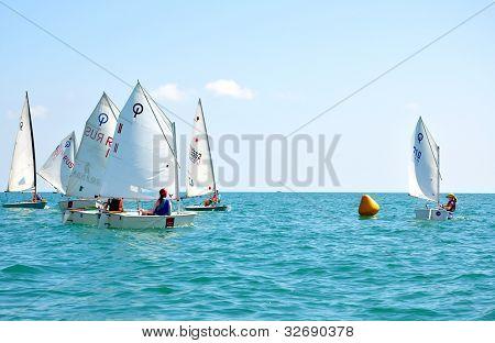 SOCHI RUSSIA - JUNE 7: Sochi regatta.