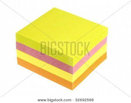 Sticky Back Note Pads
