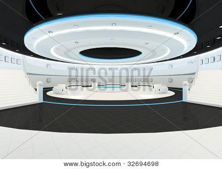 Showroom Interior Design Space