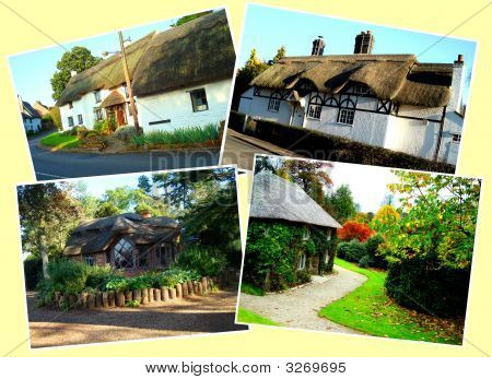 Four English Traditional Cottages