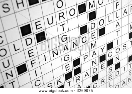 Economy Crossword