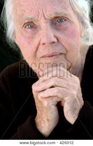 Serious Great Grandmother