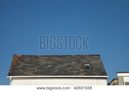 Slate Roof.