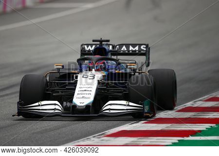 Spielberg, Austria. 2 July 2021.  George Russell Of Williams   On Track During Free Practice Of   Fo