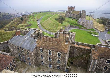 Dover Castle England Uk