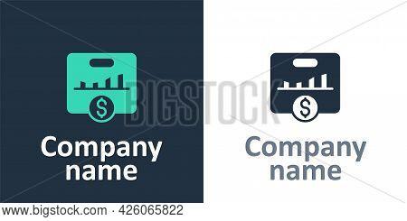 Logotype Kpi - Key Performance Indicator Icon Isolated On White Background. Logo Design Template Ele