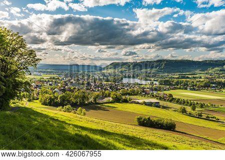View To Stein Am Rhein, Canton Schaffhausen, Switzerland