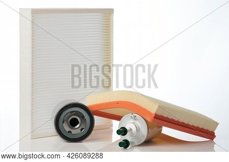 Oil , Air And Gas Car Filters