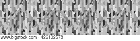 Seamless Polygonal Pattern. Abstract Geometric Wallpaper Of The Surface. Tiled Background