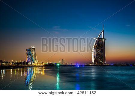 Burj Al Arab Is A Luxury 5 Stars Hotel