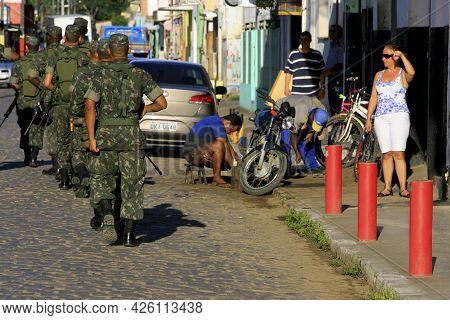 Army Soldier On Patrol