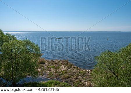 Big Lake Nero On A Cloudless Summer Day In Rostov, Yaroslavl Region, Russia.